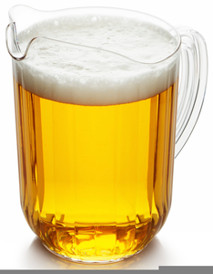Beer pitcher clipart vector library library Clipart Pitcher Of Beer | Free Images at Clker.com - vector clip art ... vector library library