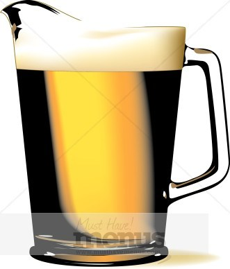 Beer pitcher clipart jpg freeuse Pitcher of beer clipart 4 » Clipart Portal jpg freeuse