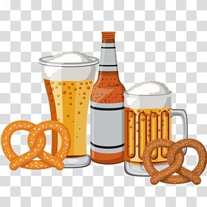 Beer pretzel brat clipart banner transparent download Beer Sausage Hot dog Oktoberfest Pretzel, Hot Dog Beer transparent ... banner transparent download