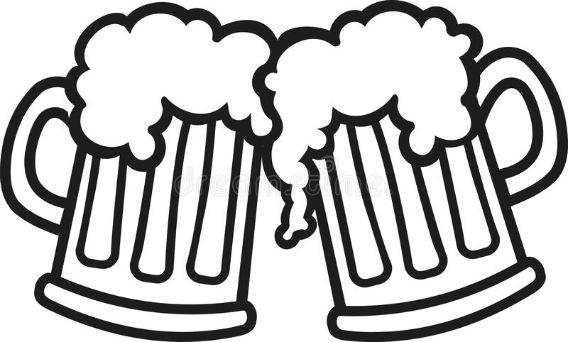 Beer stein clipart black and white image library stock Beer mug clipart black and white 3 » Clipart Station image library stock