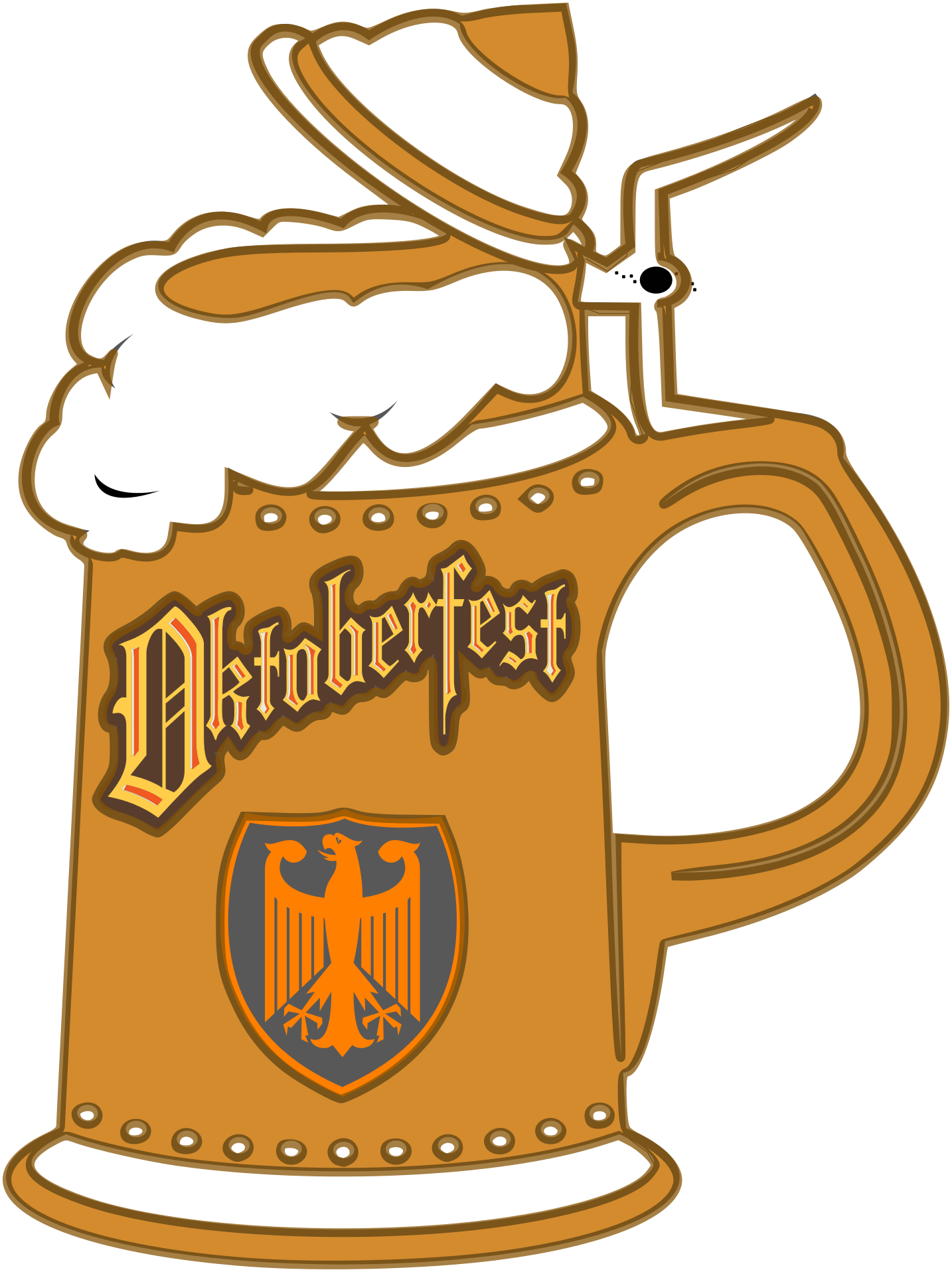 Beer stein clipart free png freeuse library Beer Stein Clipart & Look At Clip Art Images - ClipartLook png freeuse library