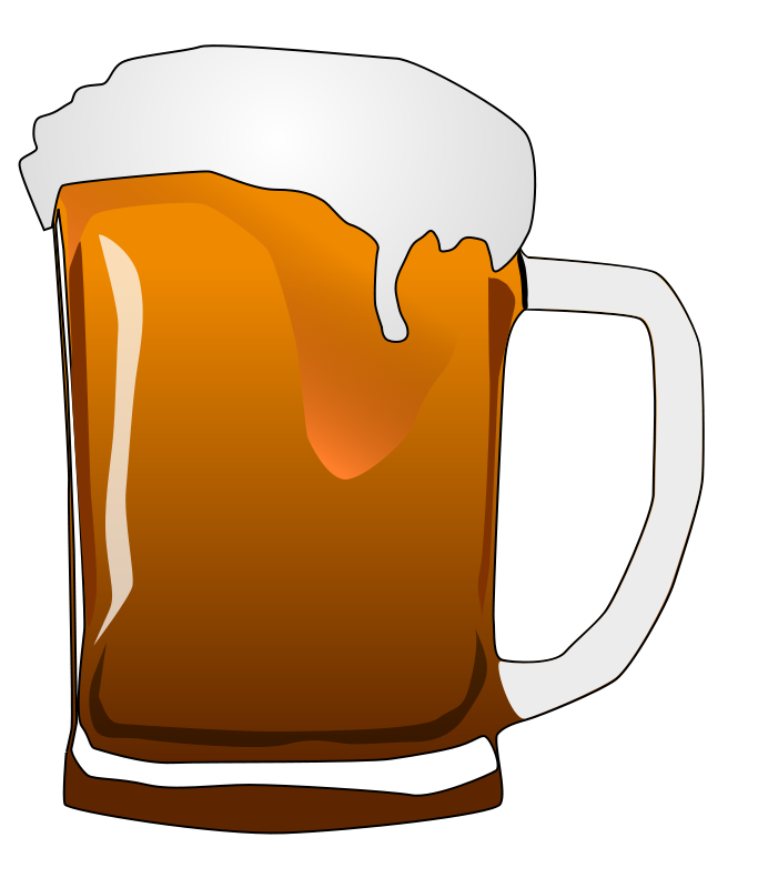 Stein download clip art. Free clipart images one beer mug red