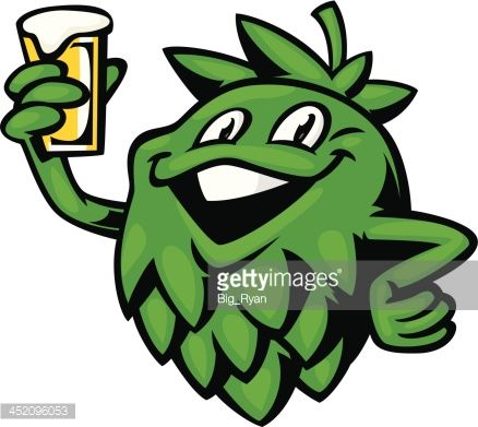 Beer tap clipart getty images big ryan svg free library cartoon hop holding up a pint of beer | new spot in 2019 | Pint of ... svg free library