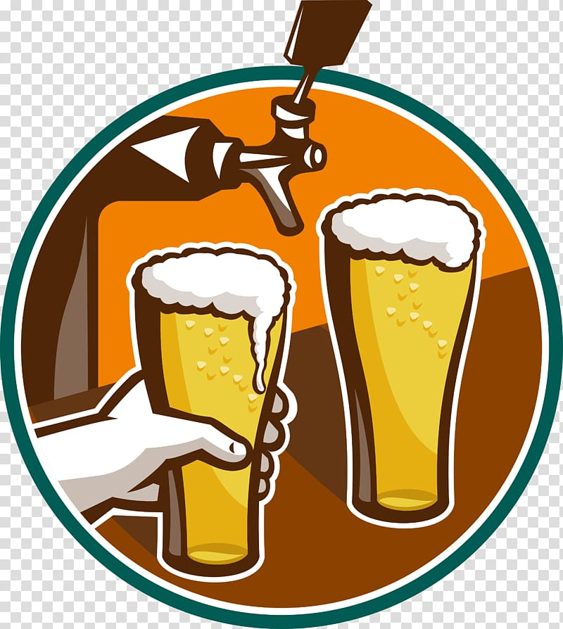 Beer tap pouring clipart vector royalty free stock Beer tap Beer Glasses Keg , beer transparent background PNG clipart ... vector royalty free stock