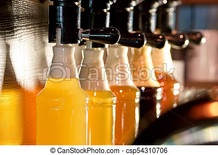 Beer tap pouring clipart clip art free download Beer taps beer pouring in bottles. clip art free download