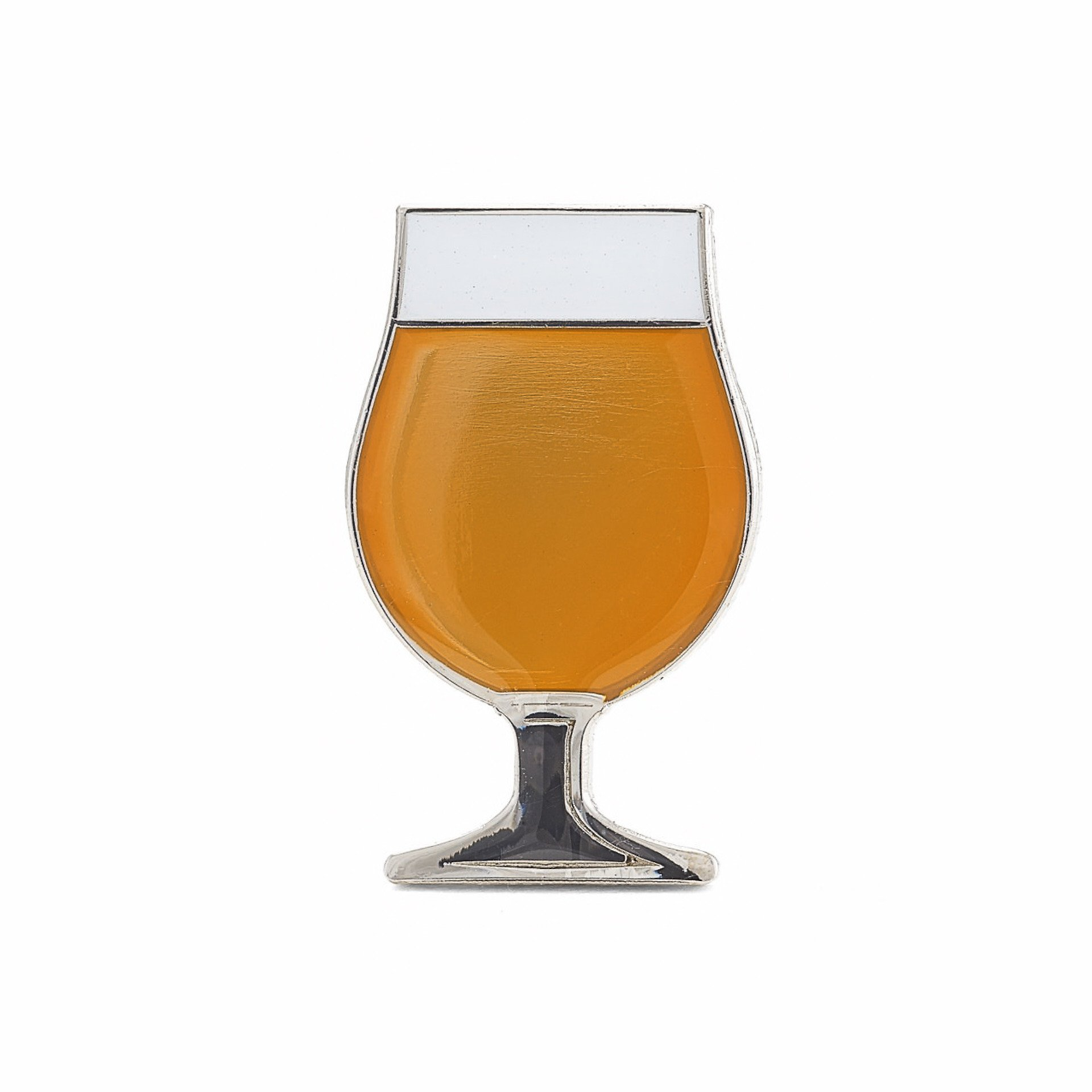 Beer tulip clipart clipart free download Beer Glass Enamel Lapel Pin - Tulip - Gold clipart free download