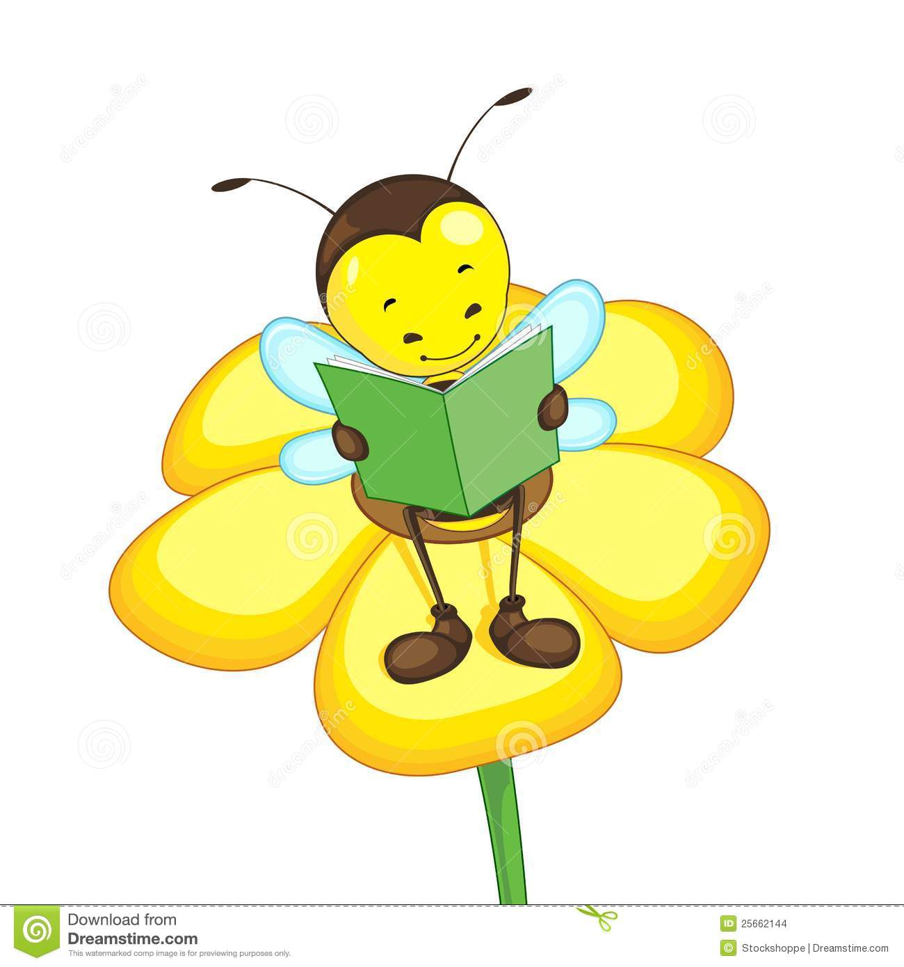 Bees and flowers clipart image free Bee And Flower Clipart - Clipart Kid image free