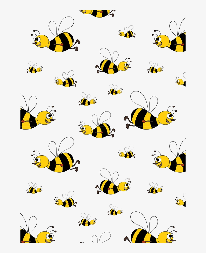 Bees background clipart svg transparent download Pollination Clipart Honey Bee - Transparent Background Bee Clip Art ... svg transparent download