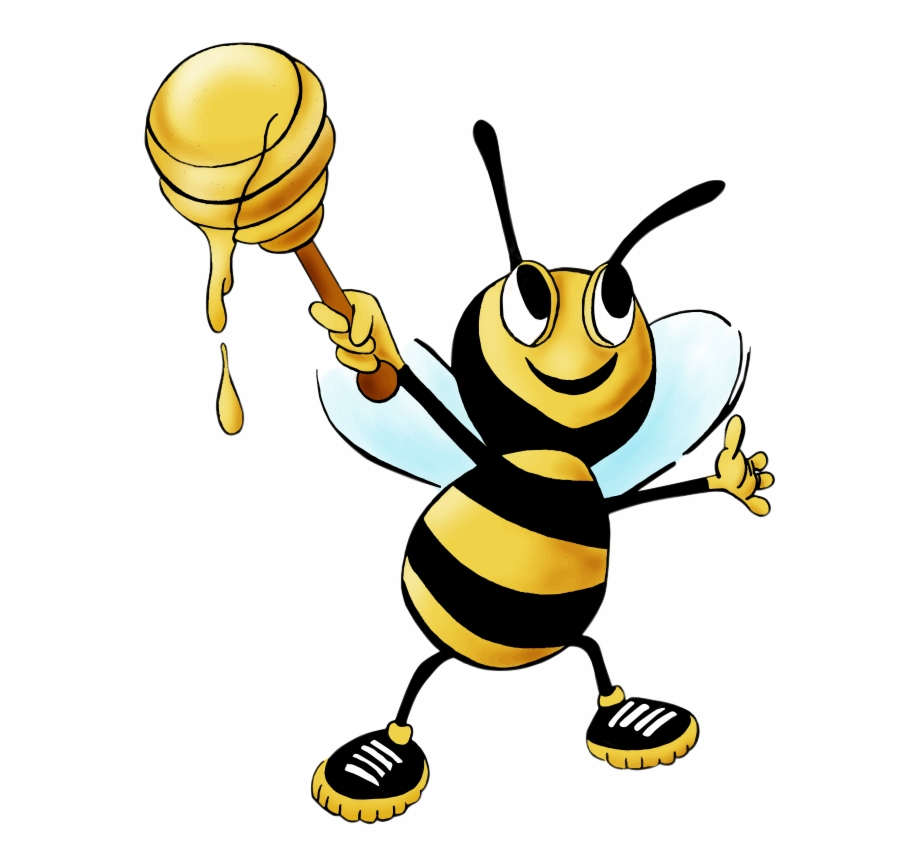 Free honey bee clipart images. Drawing and transparent png