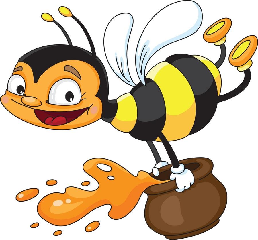 Bees honey clipart clipart transparent download Download bees honey clipart Western honey bee Bees and Honey clipart transparent download