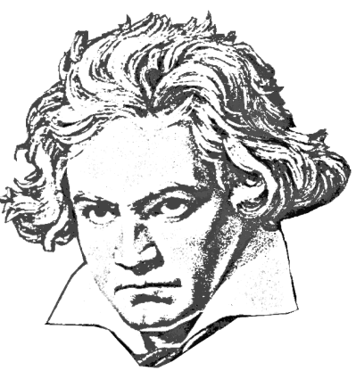 Beethoven as a child clipart black and white png freeuse Beethoven PNG - DLPNG.com png freeuse
