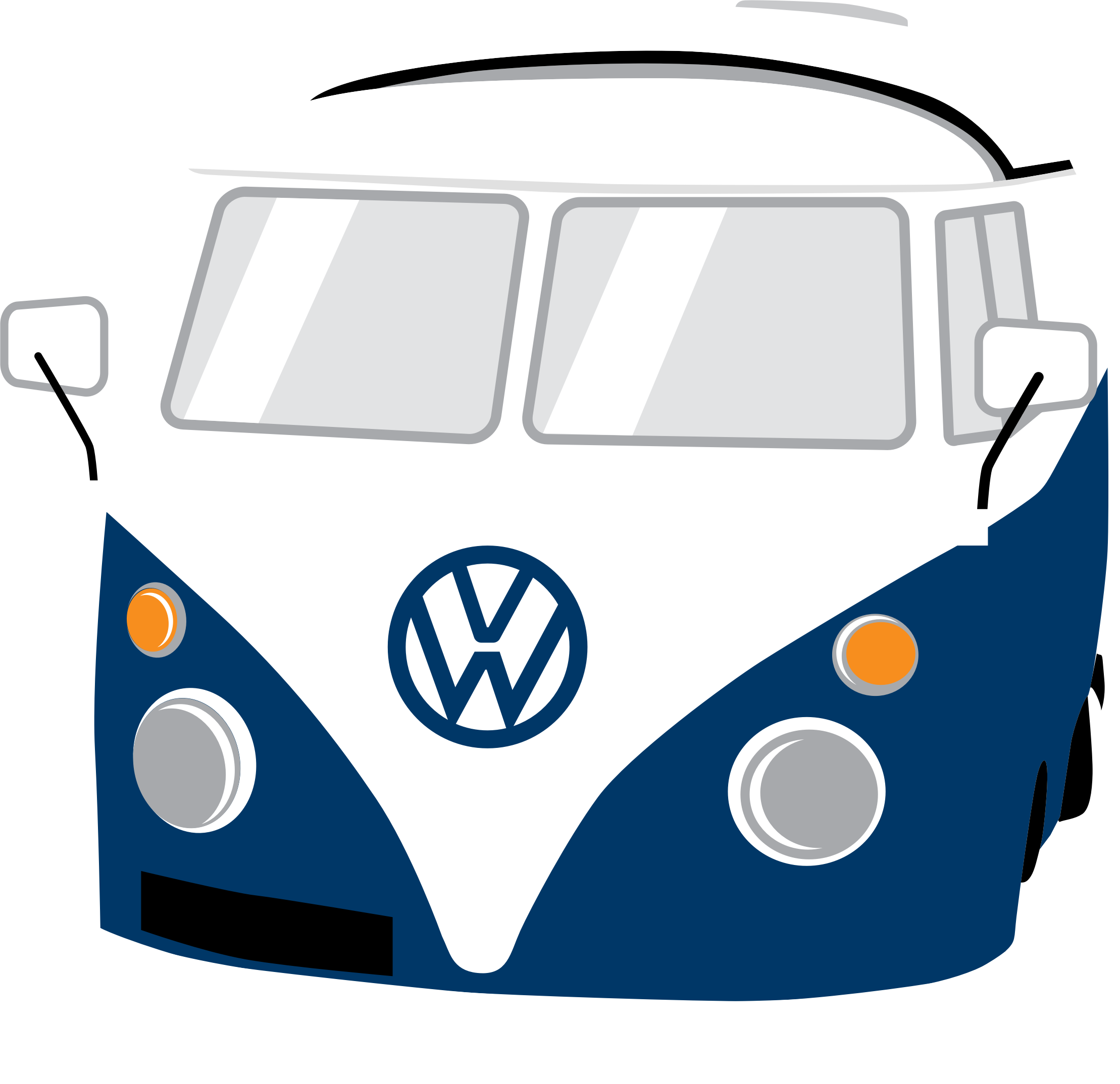 Bug car clipart banner royalty free Clipart - Volkswagen Beetle banner royalty free