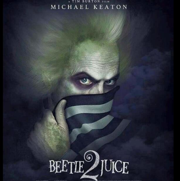 Beetlejuice 2. Coming soon