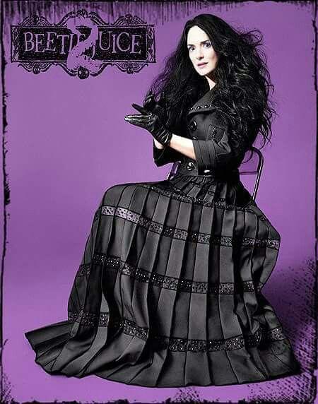 Promo poster halloween horror. Beetlejuice 2