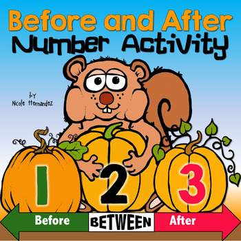 Before and after numbers clipart clip art transparent download BEFORE and AFTER Numbers Math Center Activity clip art transparent download