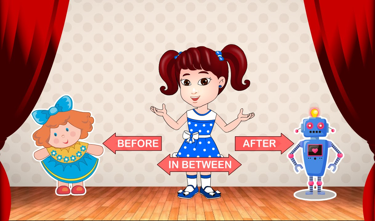 Before after and between clipart clipart free download Before, After and In between | Learn Pre-School Concepts For Kids with Siya clipart free download