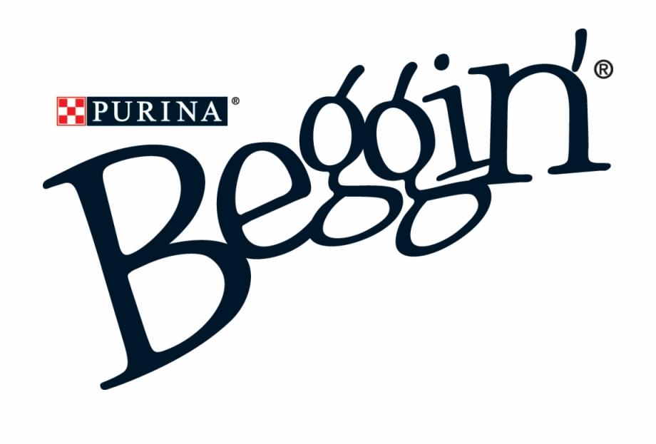 Beggin strips clipart jpg royalty free Purina Beggin\' Strips Logo - Beggin Strips Dog Treats Free PNG ... jpg royalty free
