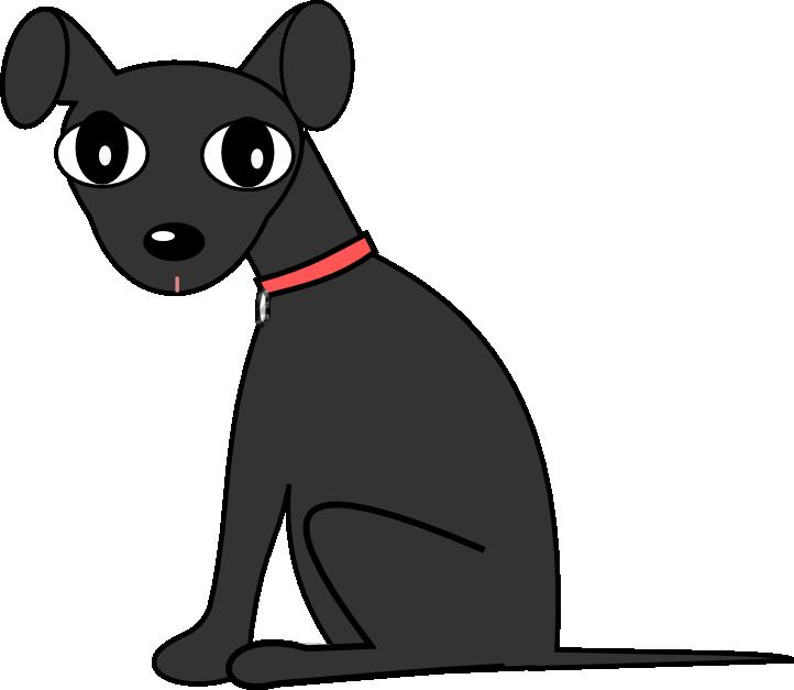 Black dog clipart svg freeuse stock Black Dog Clipart Image Group (66+) svg freeuse stock