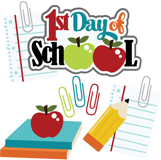Beginning of school pictures clipart svg library library Free First Day Of School Images, Download Free Clip Art, Free Clip ... svg library library