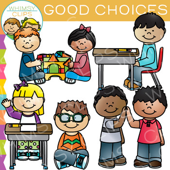Nehsvior clipart clip art library stock Good Choices Behavior Clip Art clip art library stock