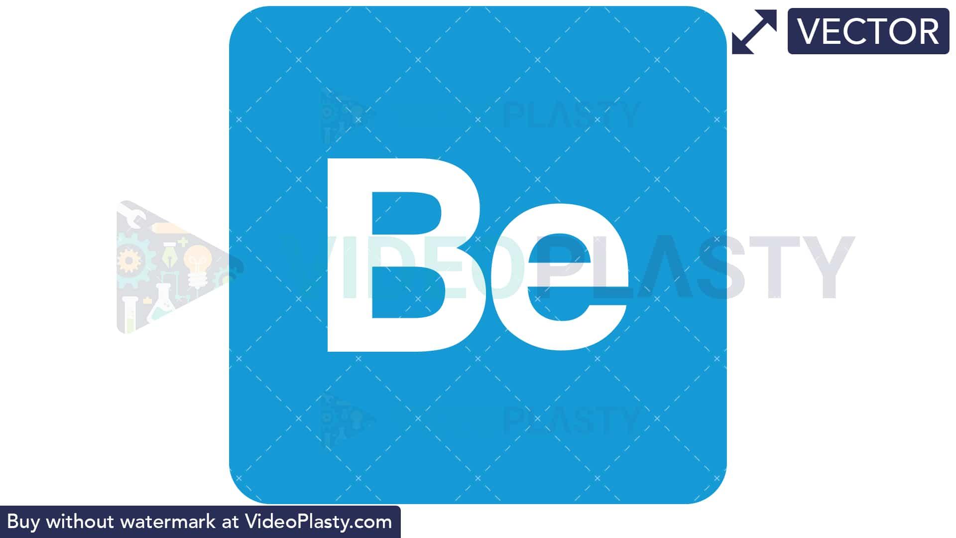 Behance logo clipart clip freeuse Behance Icon [VECTOR] clip freeuse