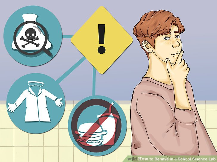 Behave in school clipart clipart stock 3 Ways to Behave in a School Science Lab - wikiHow clipart stock