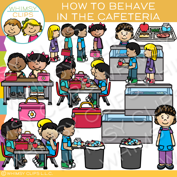 Behave in school clipart picture transparent library How to Behave in the Cafeteria Clip Art picture transparent library