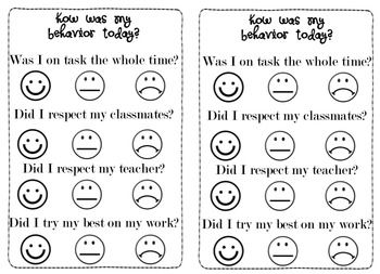 Behavior faces clipart transparent stock This is an easy-to-understand self assessment rubric for behavior ... transparent stock