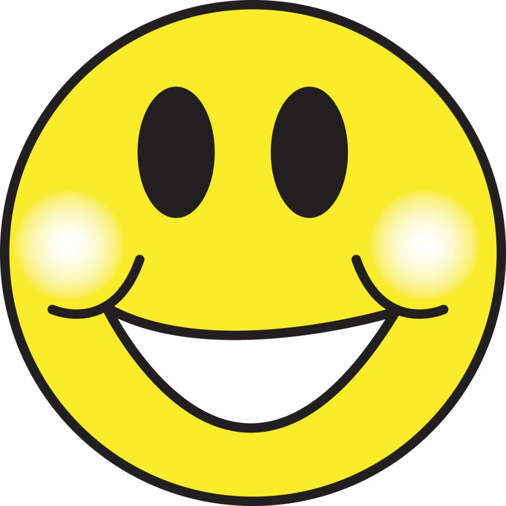 Quiet smiley face clipart