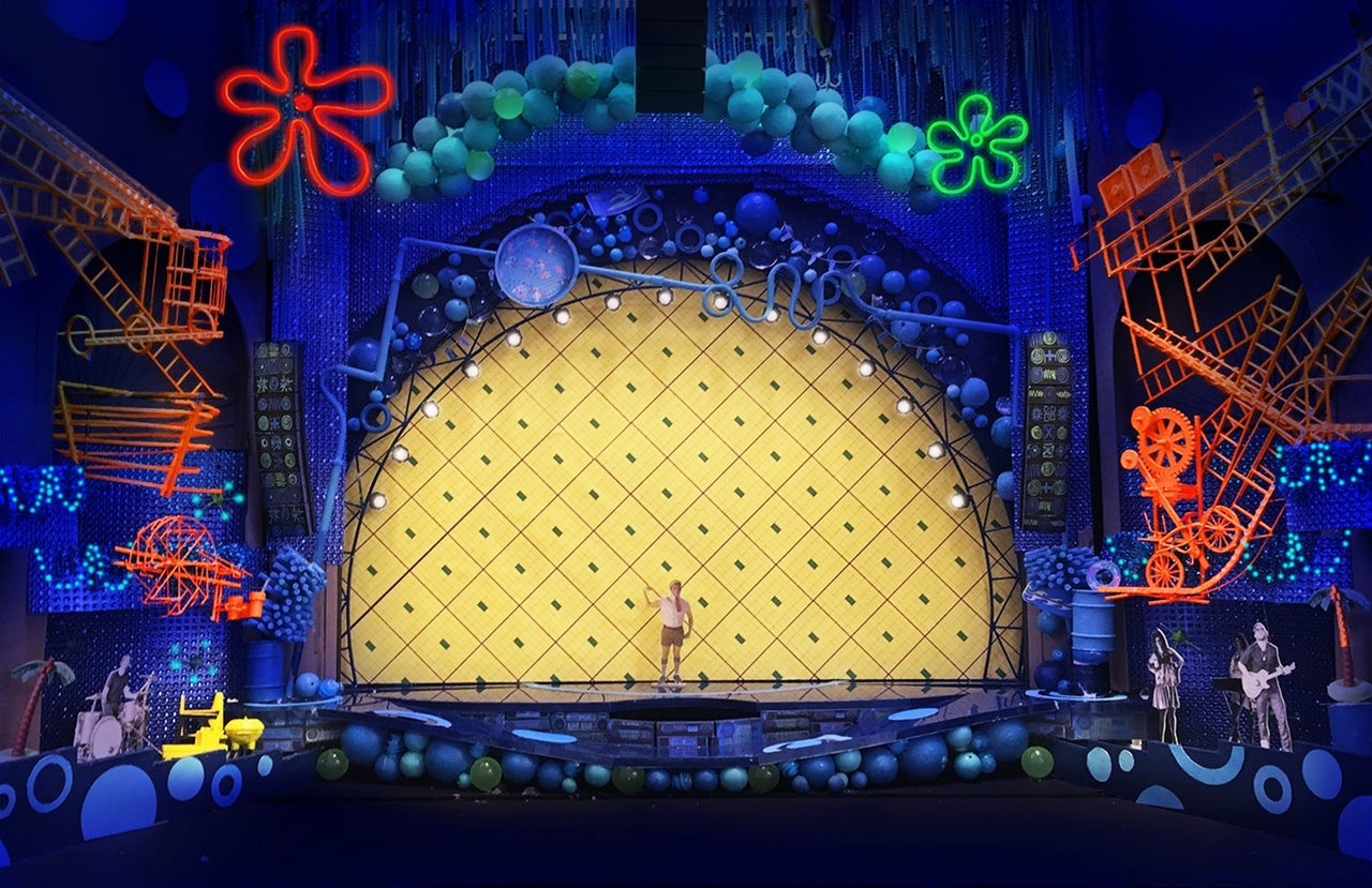 Behind the scenes broadway clipart image free download How SpongeBob SquarePants came to life on Broadway | The Outline image free download