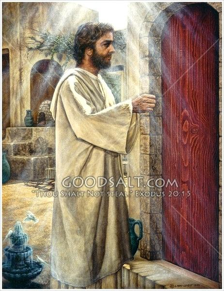 Behold i stand at the door and knock clipart clip free stock Jesus Knocking At The Door Painting at PaintingValley.com | Explore ... clip free stock