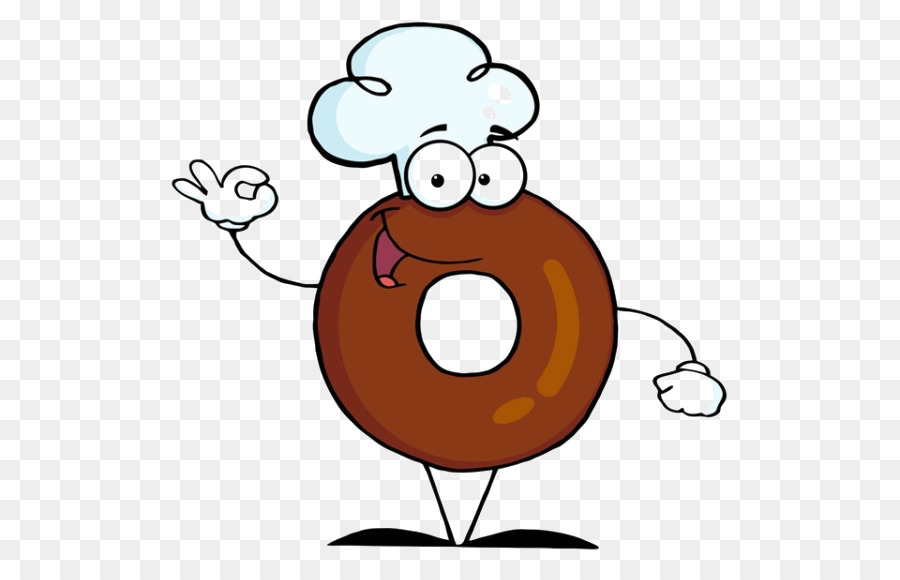 Beignet clipart library Chef Cartoon png download - 600*571 - Free Transparent Doughnut png ... library