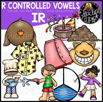 Being a part clipart picture free R Controlled Vowels - IR Clip Art Bundle {Educlips Clipart} picture free