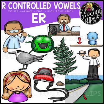 Being a part clipart image transparent stock R Controlled Vowels - ER Clip Art Bundle {Educlips Clipart} image transparent stock