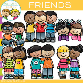 Being kind to friends clipart svg royalty free Friends Clip Art svg royalty free