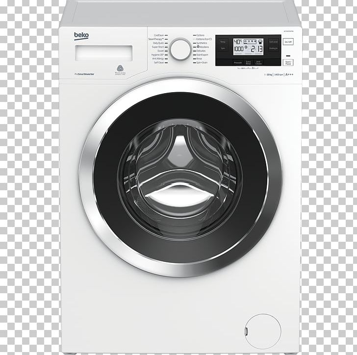 Beko clipart svg free Beko WTG841B1 Washing Machines Home Appliance PNG, Clipart, Beko ... svg free