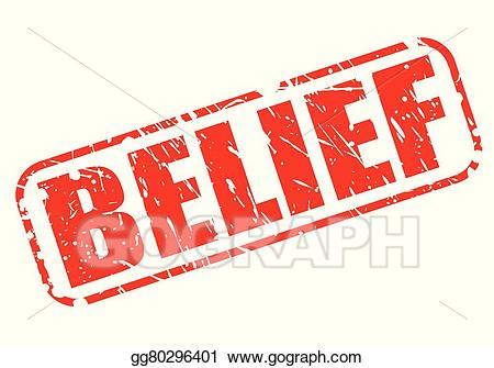 Belief clipart vector download Vector Clipart - Belief red stamp text. Vector Illustration ... vector download