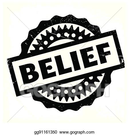 Belief clipart vector library EPS Vector - Belief rubber stamp. Stock Clipart Illustration ... vector library