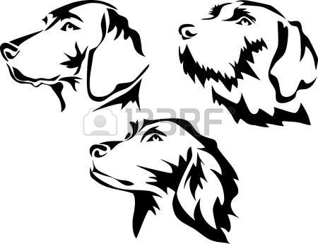 Belgian shorthaired pointer clipart graphic black and white download Belgian shorthaired pointer clipart - ClipartFest graphic black and white download