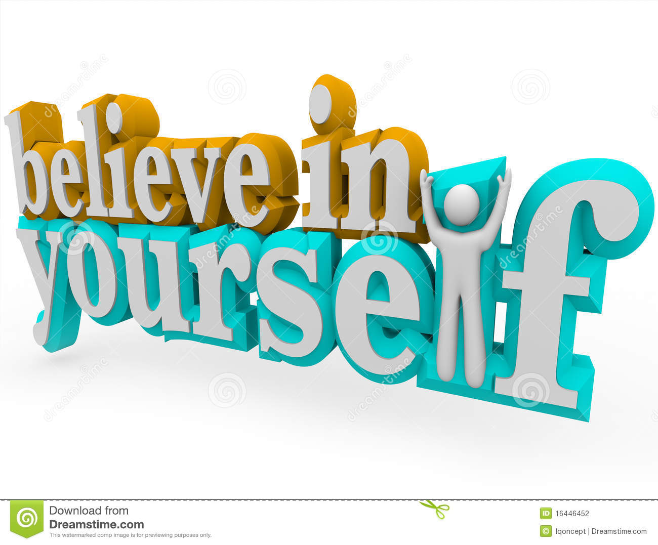 Believe clipart free image library download Believe in Yourself - 3d Words | Clipart Panda - Free Clipart Images image library download
