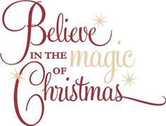 Believe in the magic of christmas clipart clip free stock Christmas Magic Cliparts - Cliparts Zone clip free stock
