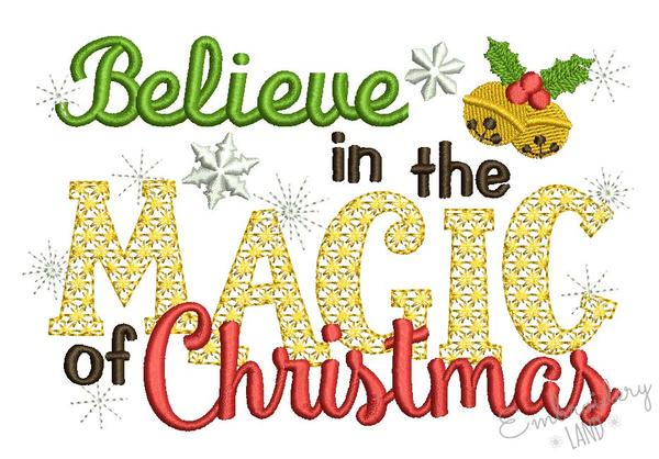 Believe in the magic of christmas clipart image transparent Believe in the Magic of Christmas CHR078 image transparent