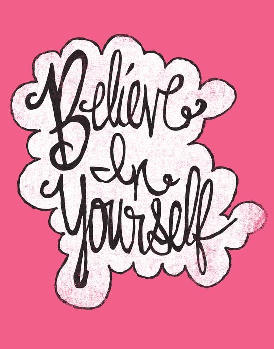 Believe in yourself word clipart clip free BELIEVE IN YOURSELF by Matthew Taylor Wilson motivationmonday print ... clip free