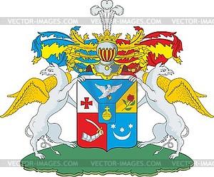 Belkin logo clipart image download Belkin family coat of arms - vector clipart / vector image image download