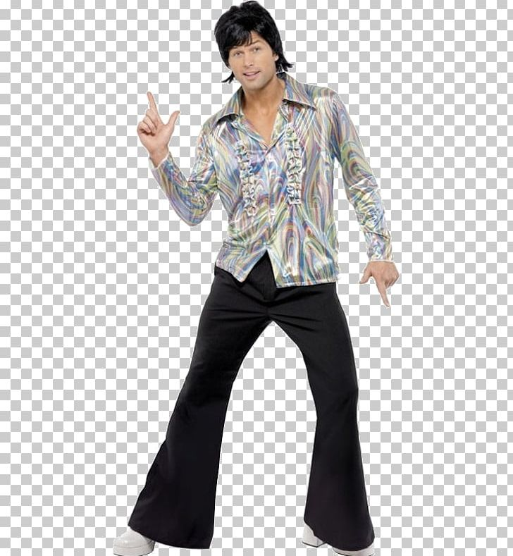 Bell bottoms 70s clipart black and white picture freeuse library 1970s Clothing 70S Retro Costume Black With Psychedelic Pattern ... picture freeuse library