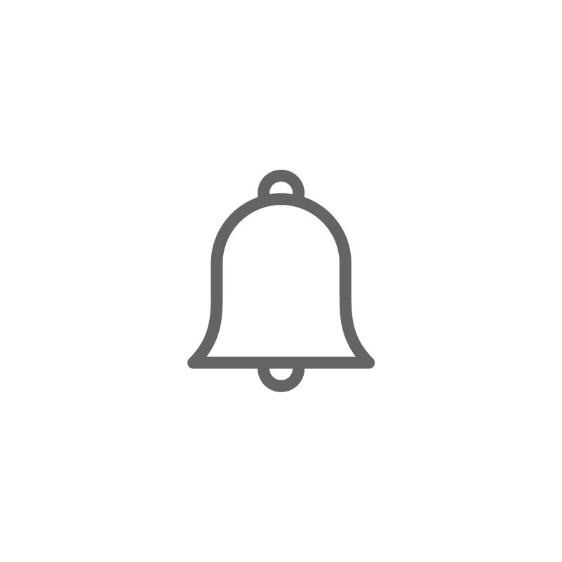 Bell icon logo clipart clip royalty free Interface ( Line )\' by Deemak Daksina | Single Icon in 2019 | Bell ... clip royalty free
