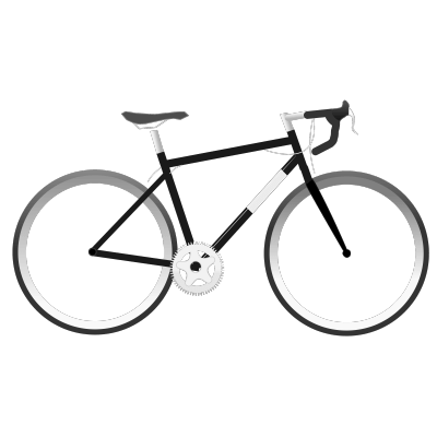 Bell on a bike clipart free Simple Bike Clipart transparent PNG - StickPNG free