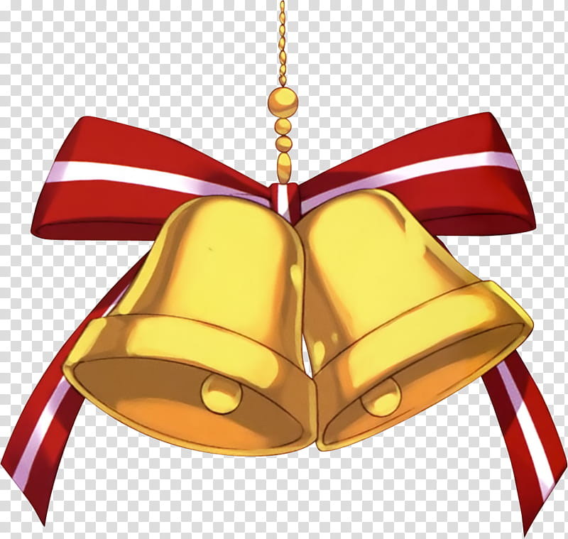 Bell with ribbon clipart picture library library Especial Navidad, bell and ribbon transparent background PNG clipart ... picture library library