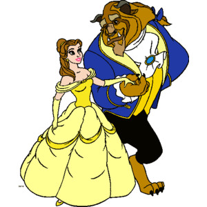 Belle and beast clipart vector Beauty And The Beast Clipart & Beauty And The Beast Clip Art ... vector