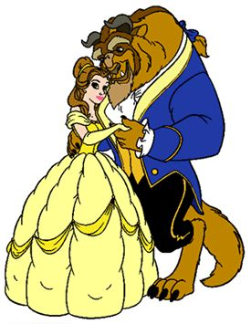 Belle and beast clipart graphic transparent download disney Clip art! Beauty and the Beast Clipart - Quality Disney ... graphic transparent download